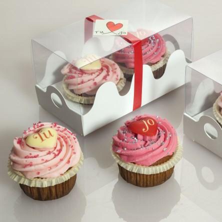 Muffins de San Valentin