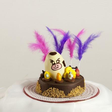 Gâteau au chocolat de Pâques 1/2Kg