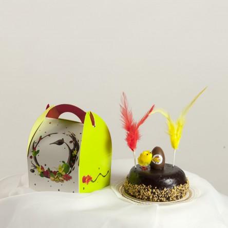 Gâteau au chocolat individuel